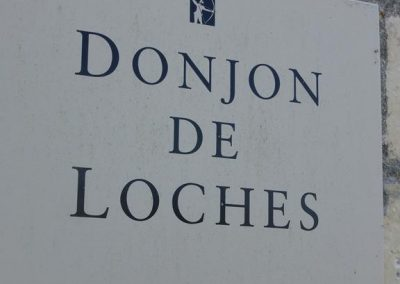 Panneau donjon de LOCHES